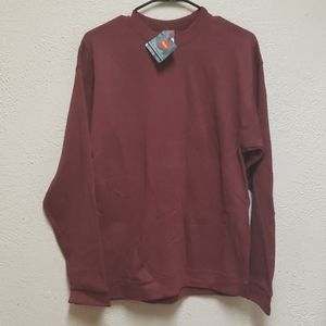 NWT Mens Hanes Pullover Sweatshirt